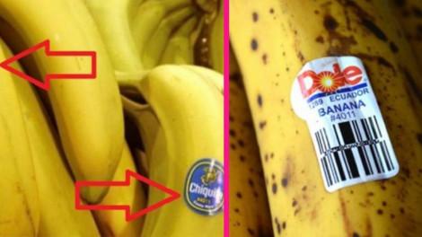 Jól nézd meg a banán címkéjét! Ha ezzel a számmal kezdődik, ne vedd meg!