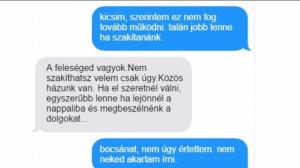 Hűtlen emberek, akik csúnyán lebuktak egy SMS miatt!