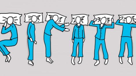 Tudtad, hogy sokat árul el rólad a póz, amiben alszol?
